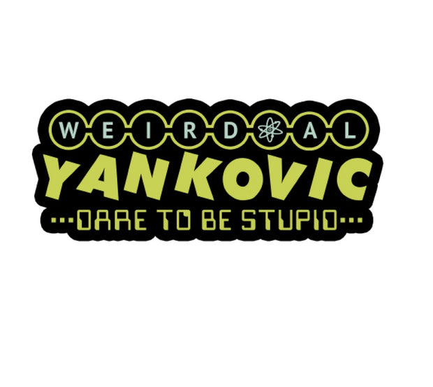 WEIRD AL YANKOVIC Dare to Be Stupid Enamel Pin