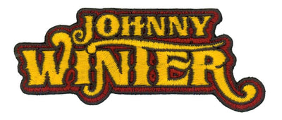 JOHNNY WINTER Patch