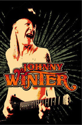 JOHNNY WINTER Magnet