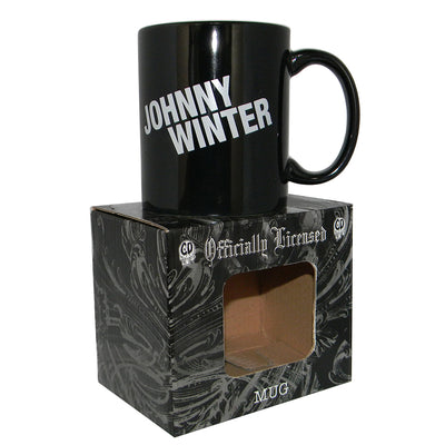 JOHNNY WINTER Coffee Cup