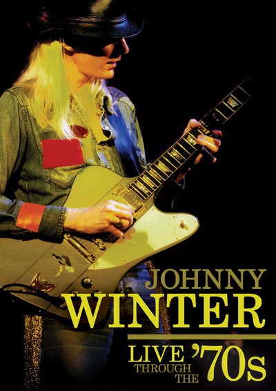 JOHNNY WINTER Live Through The 70s DVD