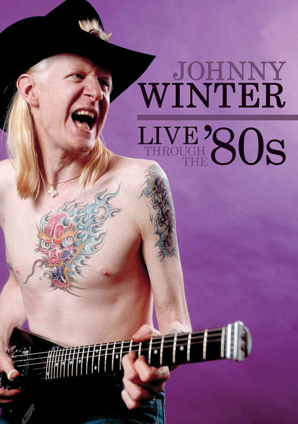 JOHNNY WINTER Live Through The 80s DVD