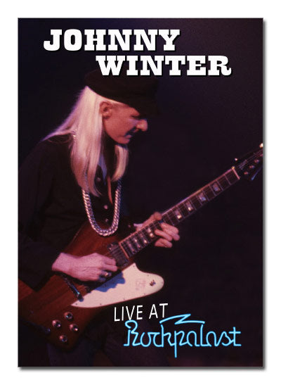 JOHNNY WINTER Live at Rockpalast DVD