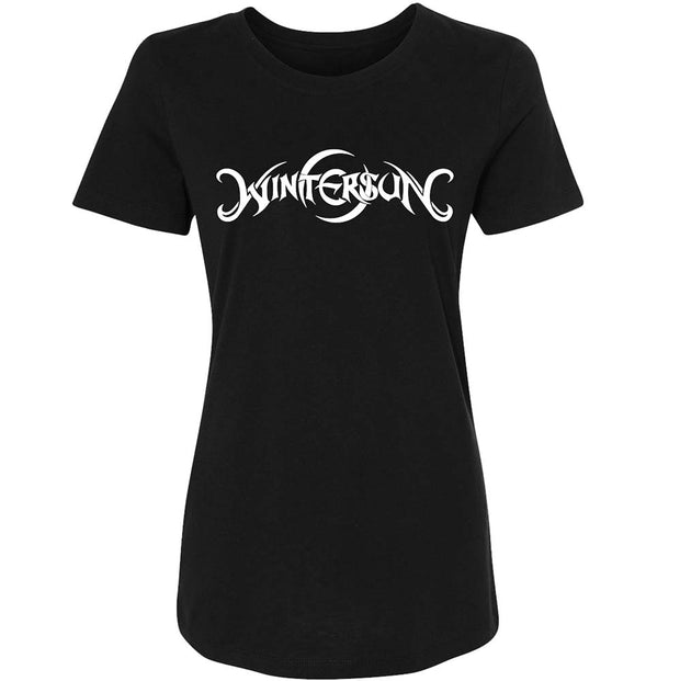 WINTERSUN Logo Daughters Of Winter Ladies Black T-Shirt
