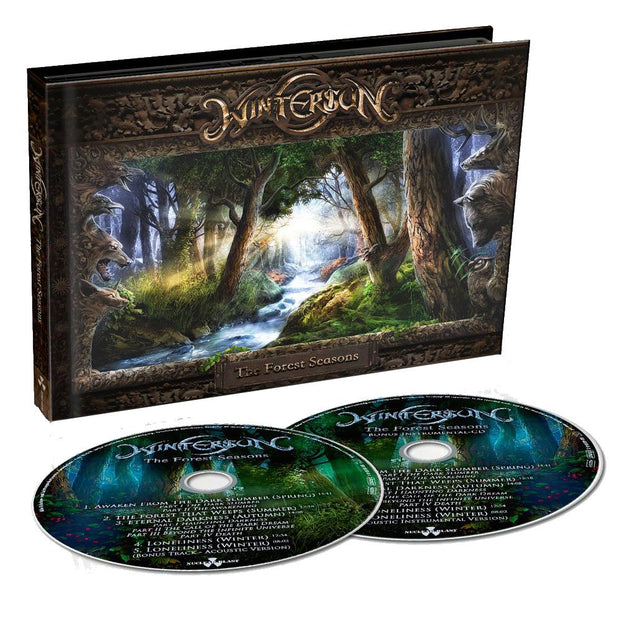 WINTERSUN The Forest Seasons Digipack