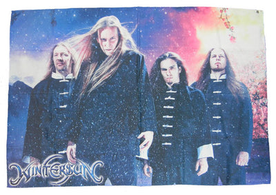 WINTERSUN Band Photo Poster Flag