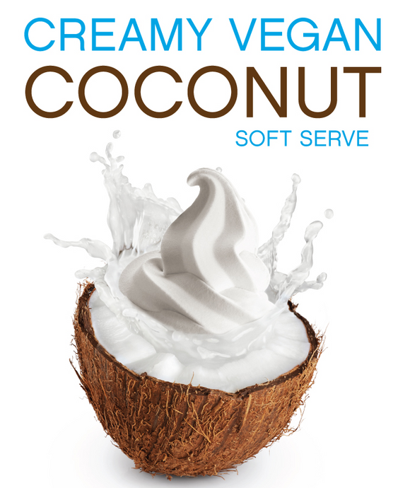 Try the New Creamy Vegan Coconut Soft Serve Mix