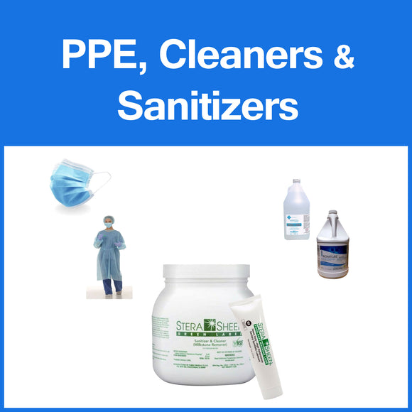 PPE Cleaners and Sanitizers