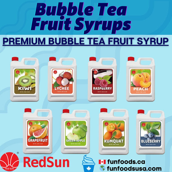 Bubble Tea Syrups for Making Bubble Tea Recipes