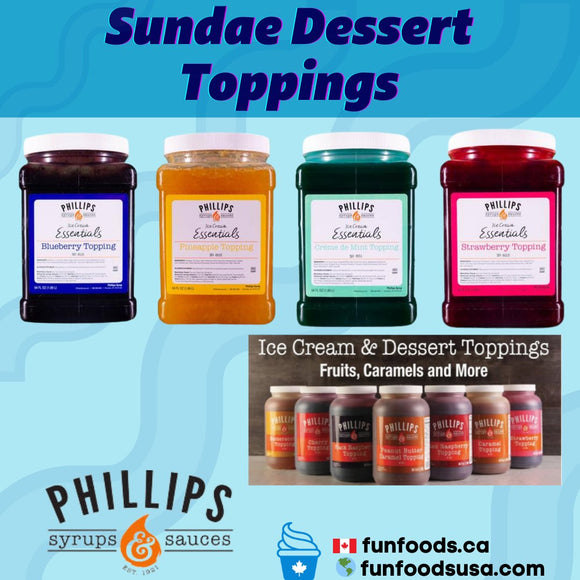 Sundae Dessert Toppings
