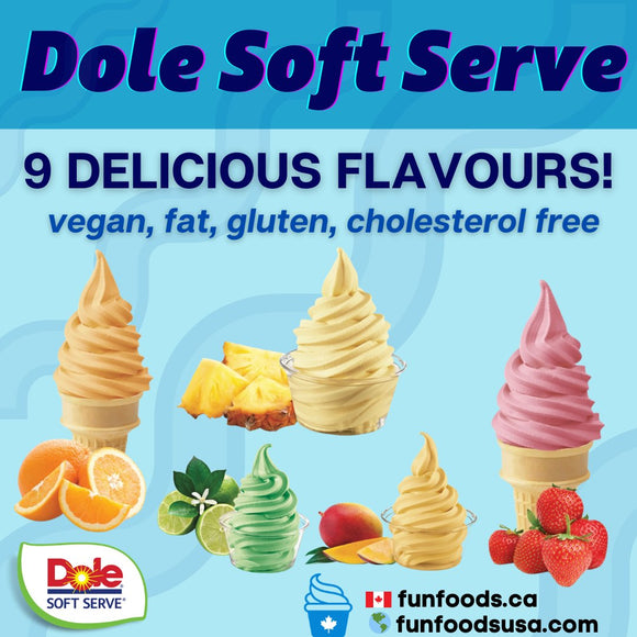 Dole Whip aka Dole Soft Serve Mix Wholesaler Canada