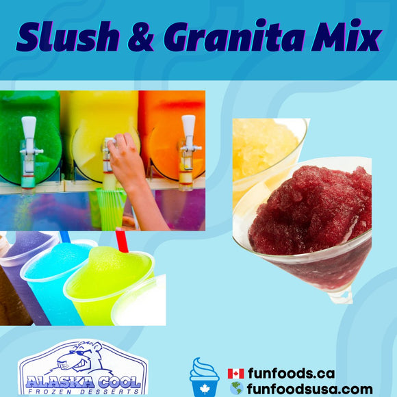Slush Mix Supplier, Granita Mix Supplier Canada