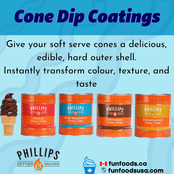 Cone Dip Coatings