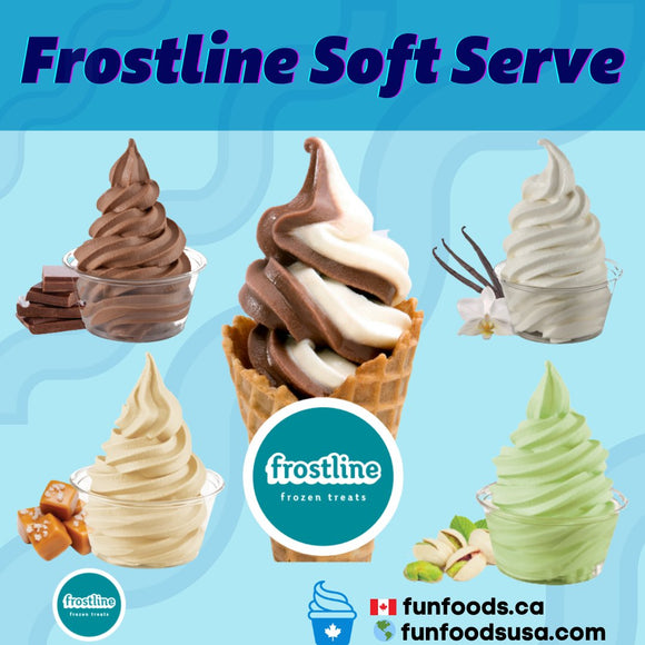 Frostline Soft Serve Mix Canada