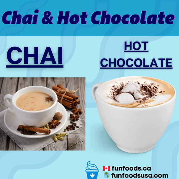 3E. Chai and Hot Chocolate