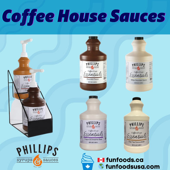 3J. Coffee House Essentials Sauces