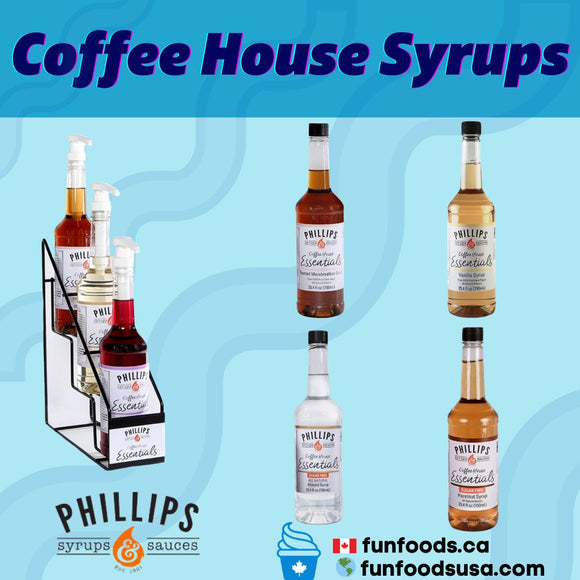 3I. Coffee House Essentials Syrups