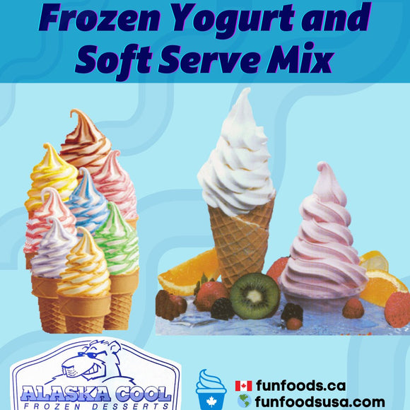 Top Supplier of Ice Cream and Frozen Yogurt Mixes in Canada