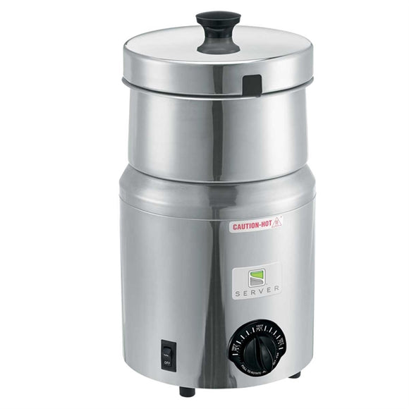 Server 81000 5 qt Countertop Soup Warmer w/ Thermostatic Controls, 120v