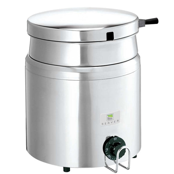 Server 84000 7 qt Countertop Soup Warmer w/ Thermostatic Controls, 120v