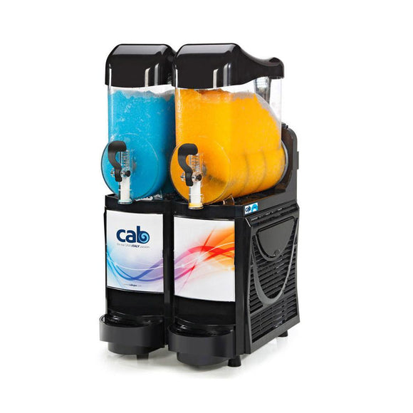 CAB FM2 Twin Bowl Slushie Machine - Visual Appeal Slush Machine