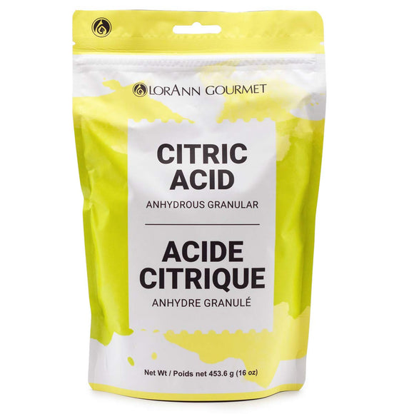 Citric Acid (Anhydrous Granular) 16 oz. Bag