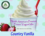 French Vanilla Premium Soft Serve Mix - Case (6 X 1.5kg Bags) Made in Canada