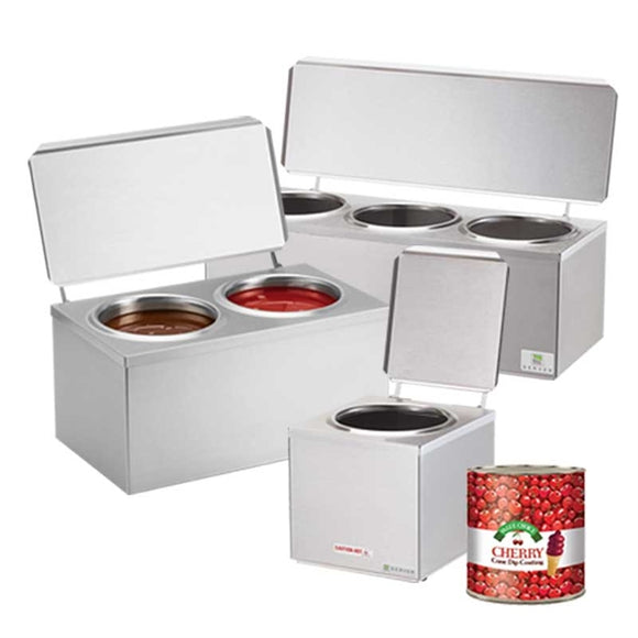 Cone Dip Warmers - Server Products 92000 - Select Single, Double or a Triple Cone Dip Warmer