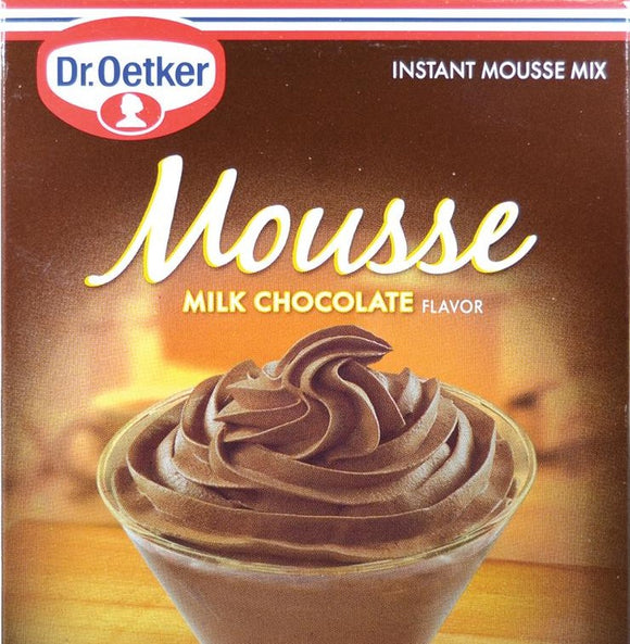 Instant Chocolate Mousse Dessert Mix by Dr. Oeteker (4 x 616 grams)