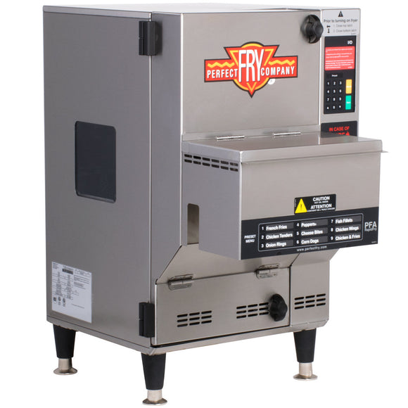 Perfect Fry PFA720 Fully Automatic Ventless Countertop Deep Fryer - 7.6 kW