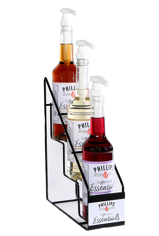 Rack for 750ml Syrup Bottles