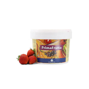 Primafrutta PC130P - Fragola - Strawberry Paste by Comprital Italy