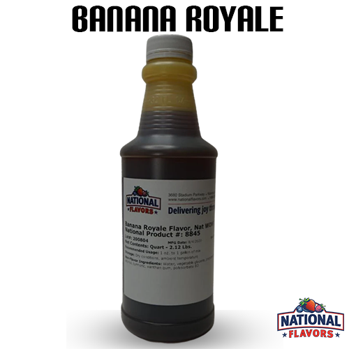 Banana Royale Flavor 32 oz Bottle