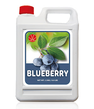 Blueberry Fruit Syrup 5KG Jar