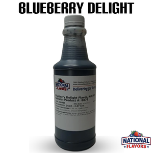 Blueberry Delight Flavor 32 oz Bottle