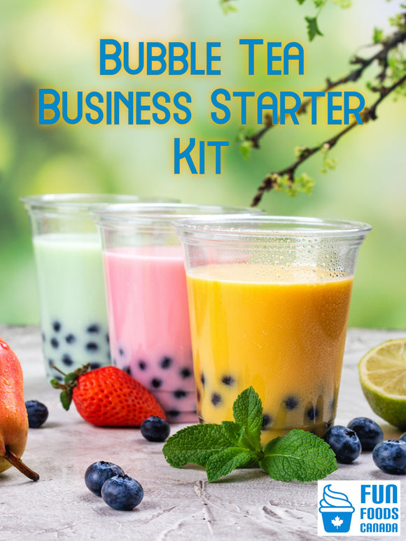 Bubble Tea Business Starter Kit - Start Your Own Bubble Tea Store or Add to Your Current Business.