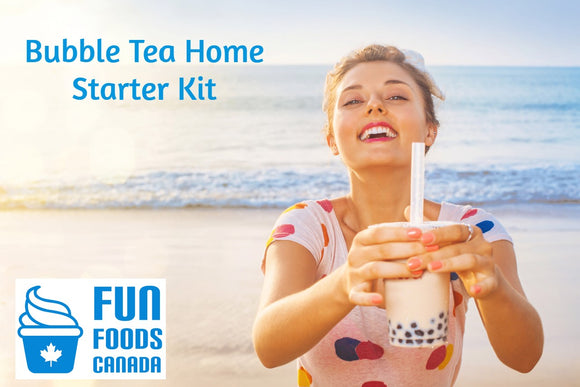 Bubble Tea Home Starter Kit for Home, Office, Birthday Parties, Special Events etc.