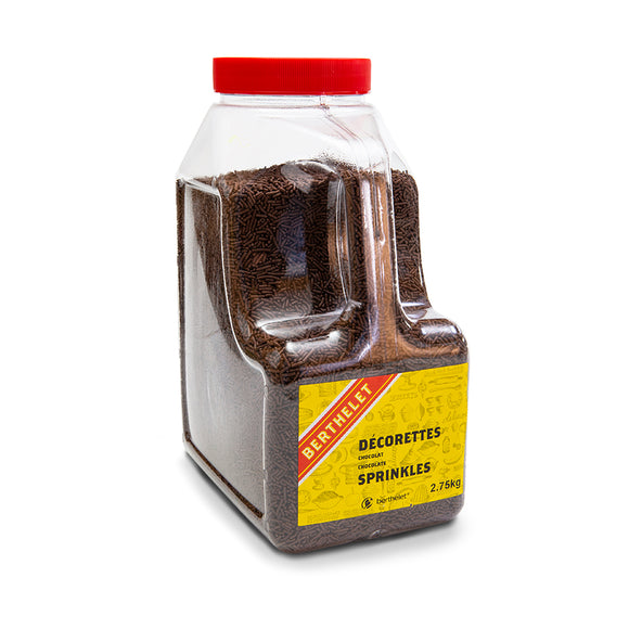 Chocolate Sprinkles 2.75 KG Jar
