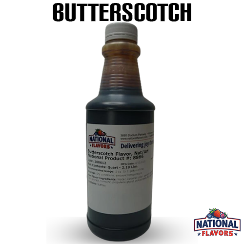 Butterscotch Flavor 32 oz Bottle