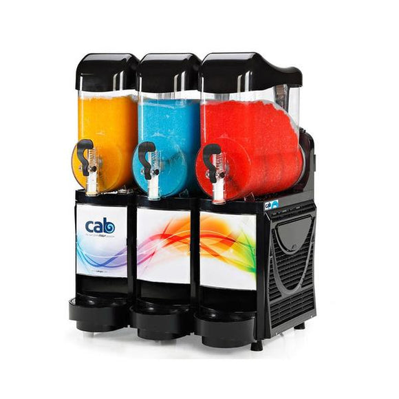 CAB FM3 Triple Bowl Slushie Machine - Visual Appeal Slush Machine