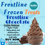 Frostline Chocolate Soft Serve Mix