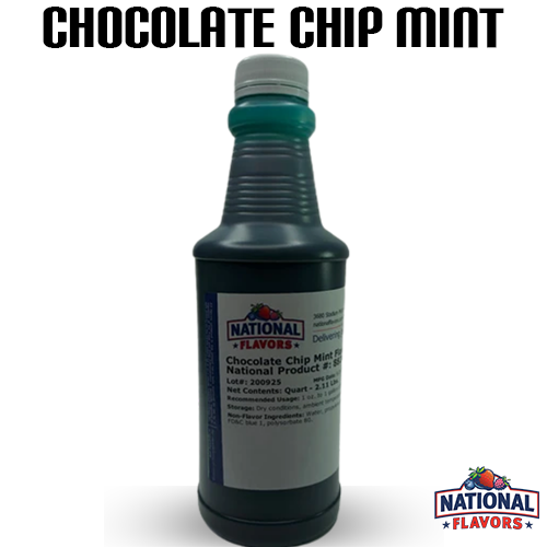 Chocolate Chip Mint Flavor 32 oz Bottle
