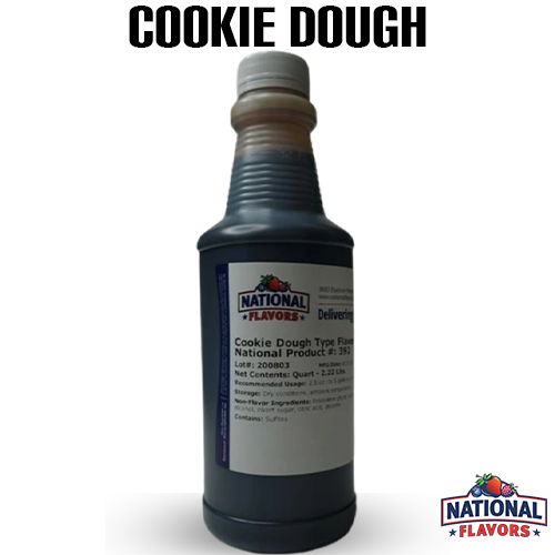 Cookie Dough Flavor 32 oz Bottle