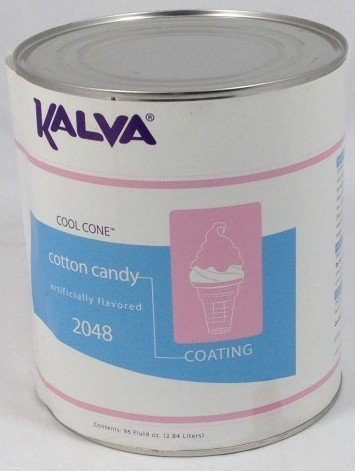 Kalva Cotton Candy Cool Cone Dip Coating #10 Can - KALVA 2048