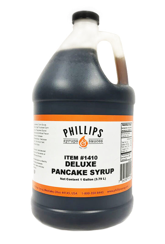 Deluxe Pancake Syrup, 4L (1 Gallon)