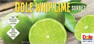 Dole Lime Soft Serve Mix