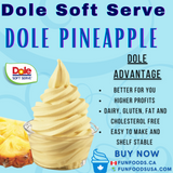 Dole Pineapple Soft Serve Mix - Case (4 X 4.4lb Bags)