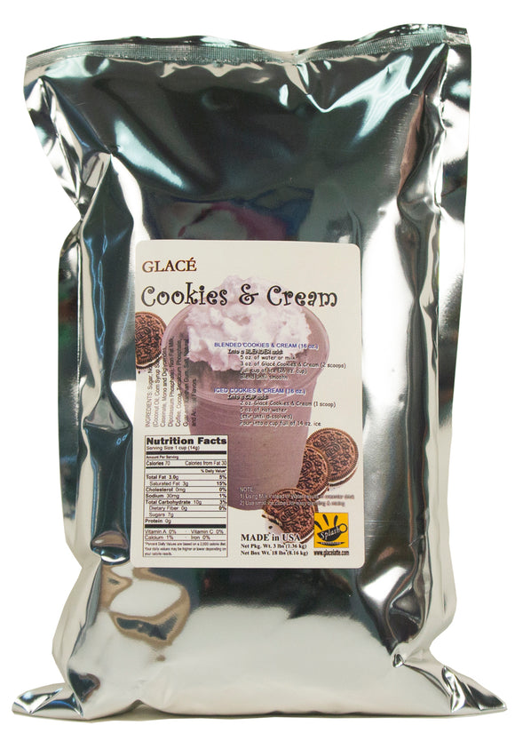 Cookies and Cream Bubble Tea / Latte and Frappe Mix 3.0lb bag