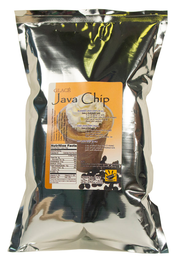 Java Chip Bubble Tea / Latte and Frappe Mix 3.0lb bag