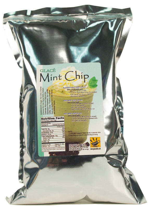 Mint Chip 4 in 1 Bubble Tea / Latte and Frappe Mix